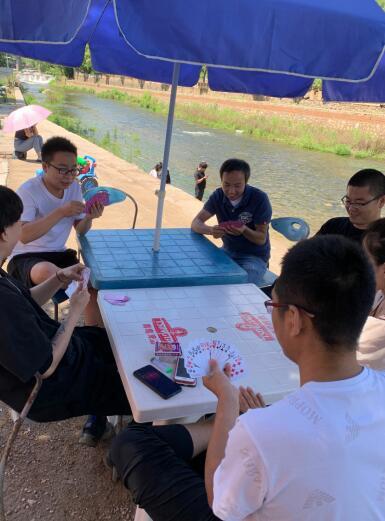 松松团队举办了夏季团建烧烤活动 公司新闻 第3张